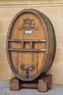 An oak barrel